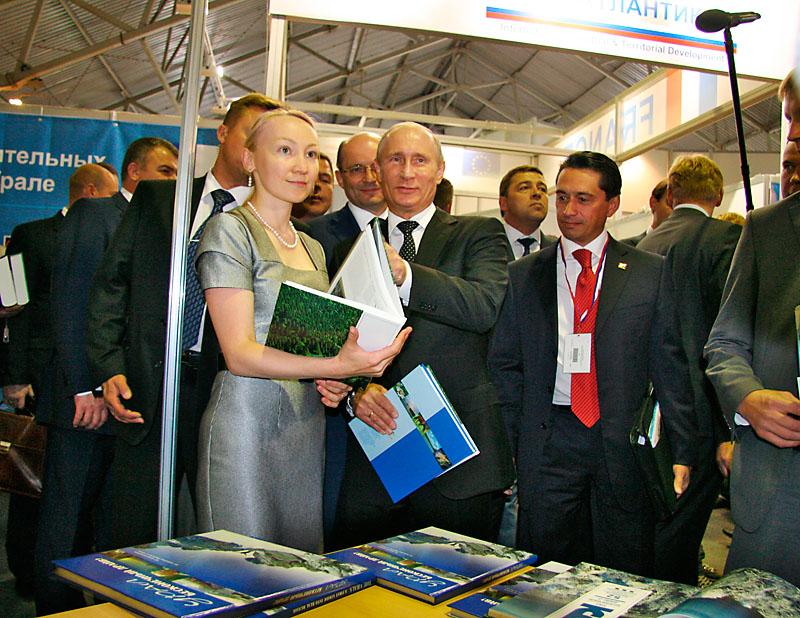 Putin juga seorang pembaca, terutama sastra klasik