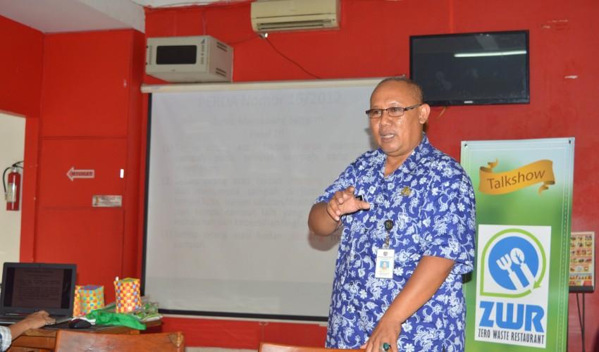 Kusumo, Kabid Pelayanan Kebersihan DKP Kota Depok