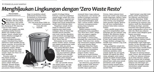 Bisnis Indonesia, Sabtu (3/9/2016)