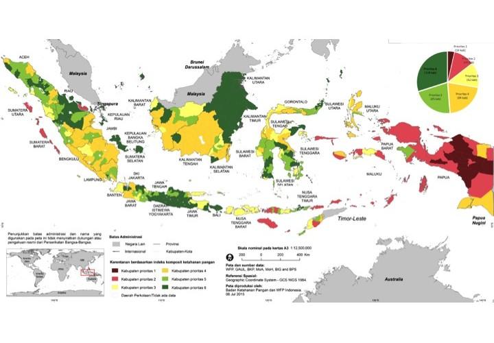peta ketahanan pangan